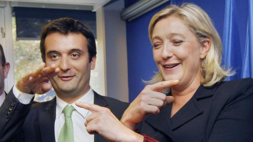 EN IMAGES. Quand Marine Le Pen et Florian Philippot étaient inséparables