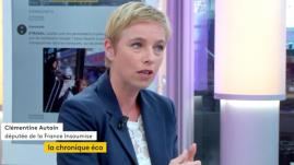"""VIDEO. Clémentine Autain : """"En France, la démocratie sociale et les mobilisations ont toujours participé au paysage politique"""""""