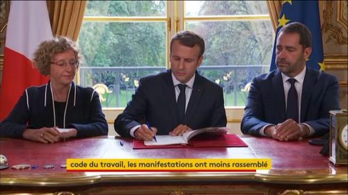Emmanuel Macron a signé les ordonnances réformant le Code du travail : voici ce que cela va changer pour vous