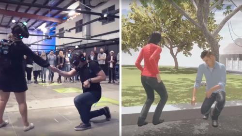 VIDEO. Australie : il fait sa demande en mariage lors d'un jeu en réalité virtuelle