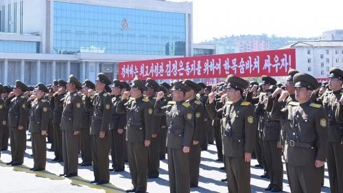 """Les actions et les propos de Trump sont """"une déclaration de guerre"""", estime la Corée du Nord"""