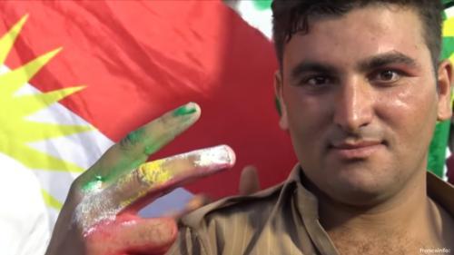 """""""Il faut divorcer de l'Irak"""" : les Kurdes rêvent d'indépendance, après un siècle de persécutions"""