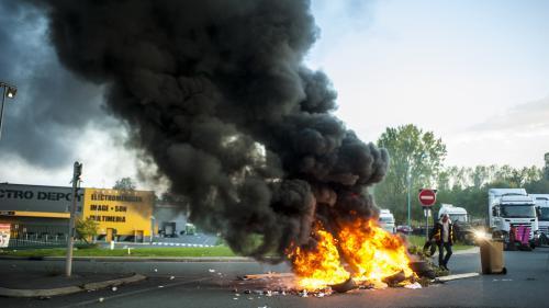 DIRECT. Les routiers mènent une deuxième journée d'action contre la réforme du Code du travail