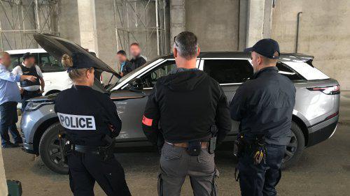 Voitures volées , faux papiers , drogue : vaste contrôle au port de Marseille