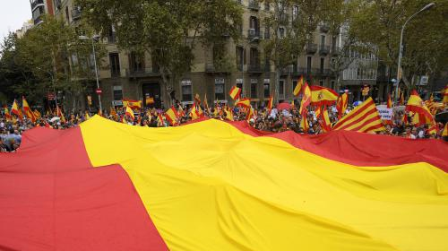 DIRECT. Référendum en Catalogne : des anti-indépendantistes manifestent à Barcelone