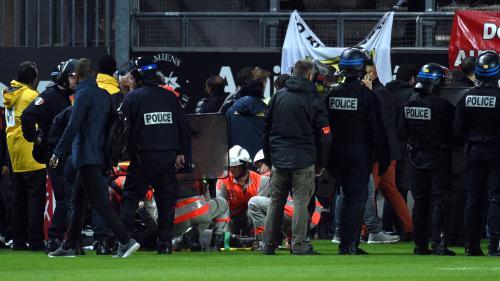 Ligue 1 : ce que l'on sait de la chute de barrière qui a fait au moins 18 blessés dont trois graves lors du match Amiens-Lille