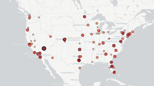 CARTE. La fusillade à Las Vegas est la plus meurtrière de l'histoire récente des Etats-Unis