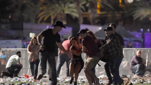 VIDEO. Las Vegas : des coups de feu retentissent en plein concert, la police à la recherche d'un tireur