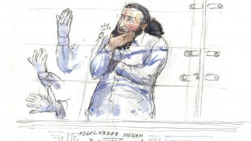 """Procès Merah : un enquêteur estime que le tueur au scooter a agi """"en loup solitaire"""" et provoque des réactions outrées"""