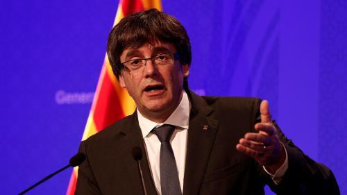 """La proclamation d'indépendance de la Catalogne pourrait survenir """"à la fin de la semaine"""", annonce le président catalan"""