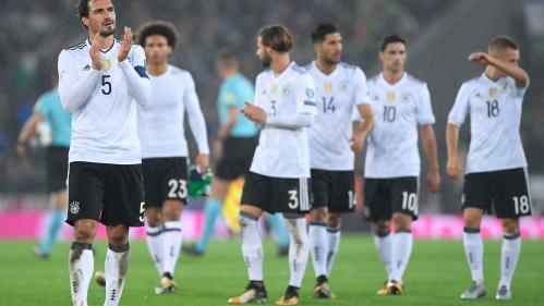 Foot : l'Allemagne et l'Angleterre décrochent leur ticket pour la Coupe du monde