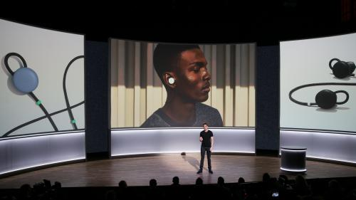 Trois questions sur les Pixel Buds, les nouveaux écouteurs intelligents de Google