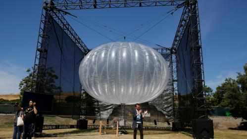 Ouragan Maria : Google va envoyer des ballons de téléphonie mobile à Porto Rico