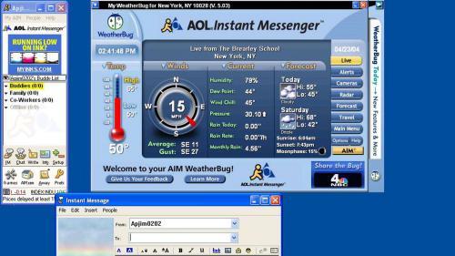 La mort programmée d'AOL Instant Messenger tourne une page d'internet