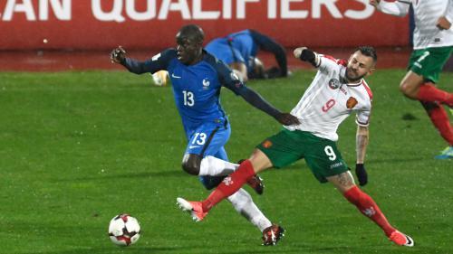 Foot : les Bleus battent laborieusement la Bulgarie (1-0), et se rapprochent de la qualification au Mondial 2018