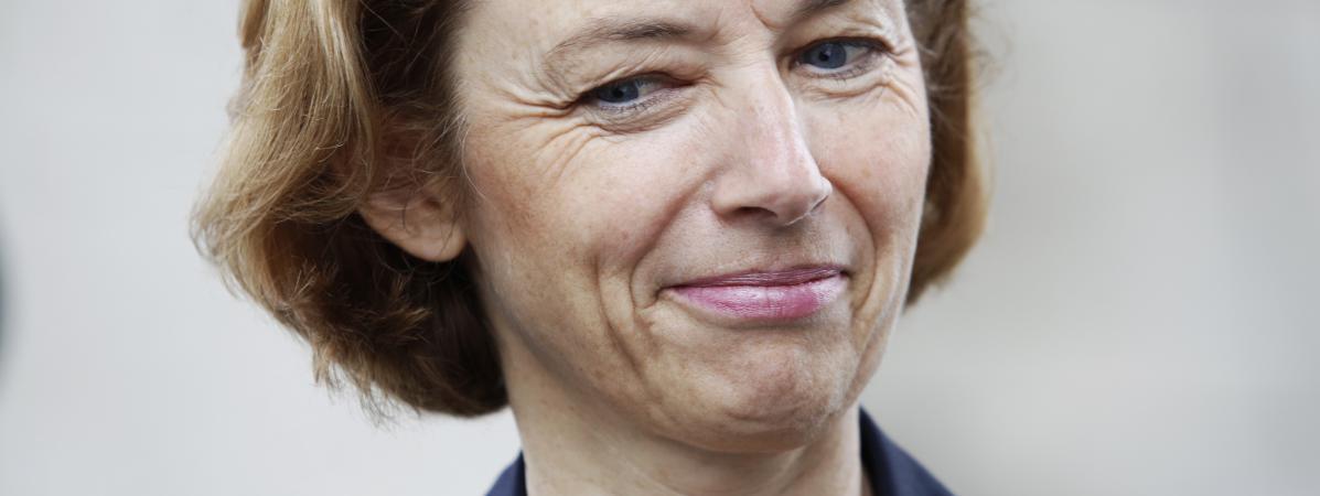 La ministre des Armées, Florence Parly, le 25 septembre 2017, à Paris.