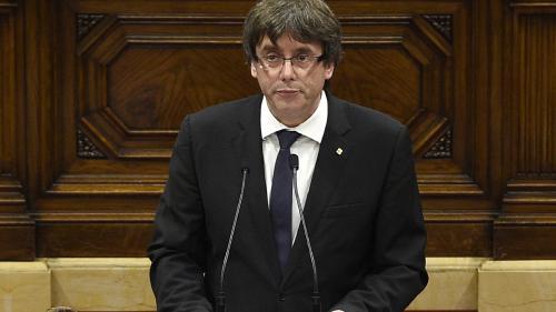 Ce qu'il faut retenir du discours de Carles Puigdemont sur la Catalogne