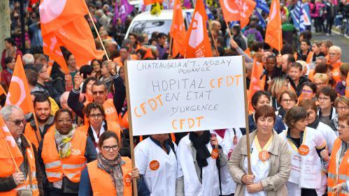 DIRECT. Grève des fonctionnaires : des heurts éclatent en marge du cortège parisien