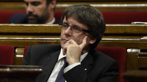 """Indépendance de la Catalogne : """"Le président n'a pas précisé un délai"""" parce que cela aurait été du """"chantage"""""""