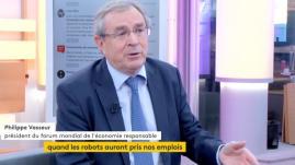 """VIDEO. Philippe Vasseur à propos de la technologie """"elle peut servir l'Homme et non pas détruire du travail humain"""""""