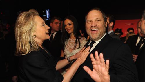 """VIDEO. Affaire Harvey Weinstein : """"Je suis choquée, dégoûtée, consternée"""", réagit Hillary Clinton"""