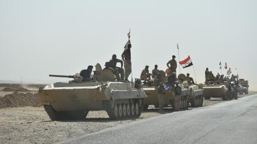 Irak : opérations militaires de Bagdad dans la province de Kirkouk, revendiquée par les Kurdes