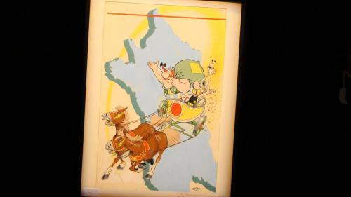 Une couverture d'un album d'Astérix vendue au prix record d'1,4 million d'euros