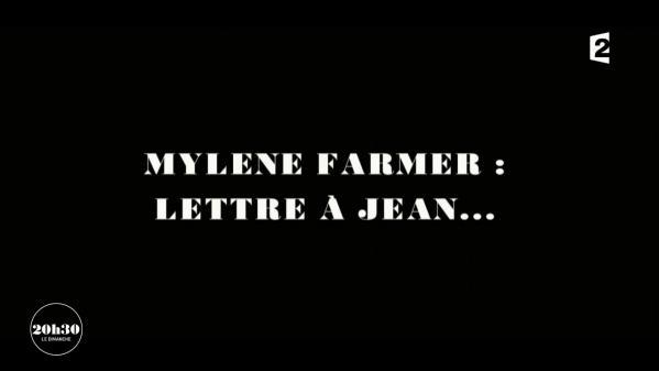 """VIDEO. """"20h30 le dimanche"""". Mylène Farmer lit la lettre qu'elle a écrite en hommage à son ami Jean Rochefort"""