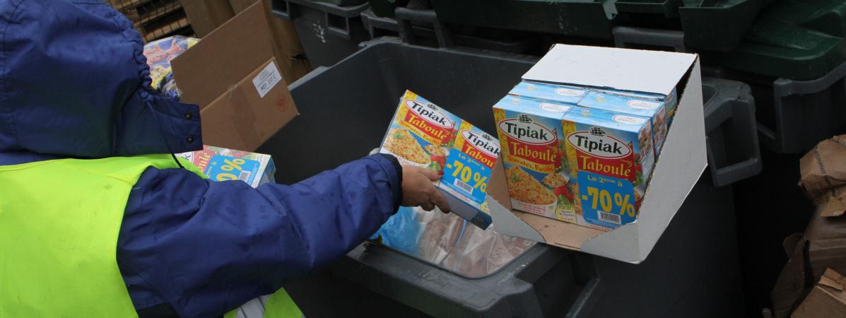 Lutte Contre Le Gaspillage Alimentaire Des Camions Frigorifiques