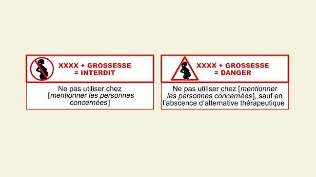 Grossesse : des pictogrammes sur les boîtes de médicaments dangereux