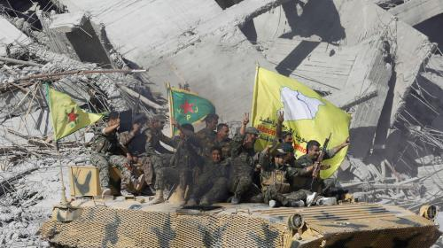 VIDEO. Dans les rues de Raqqa, le fief syrien de l'Etat islamique libéré des jihadistes