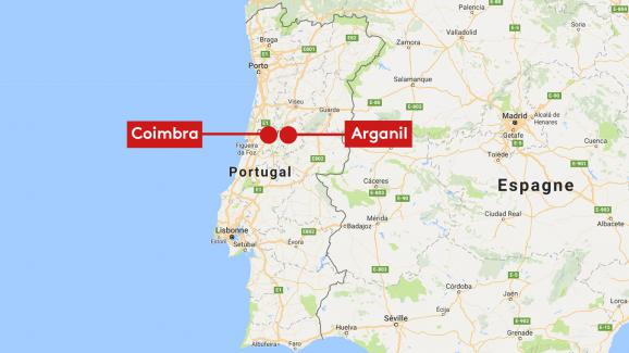 incendie portugal carte 2020 Incendies au Portugal : avec