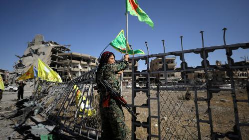 """A Raqqa, détruite, la victoire a un goût amer: """"De toutes les guerres contre Daesh, c'était la plus dure"""""""