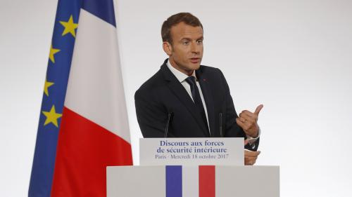 Ce qu'il faut retenir du discours d'Emmanuel Macron aux forces de l'ordre