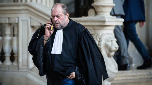 Eric Dupond-Moretti, le 18 octobre 2017, au tribunal de grande instance de Paris.