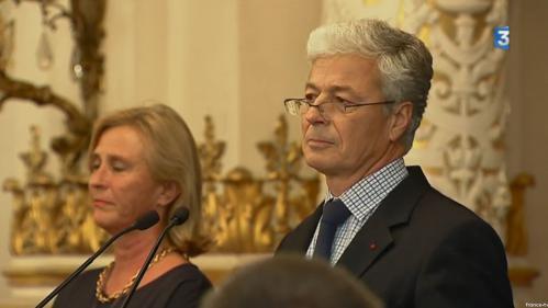 VIDEO. Au bord des larmes, le préfet d'Auvergne-Rhône-Alpes fait ses adieux après son limogeage