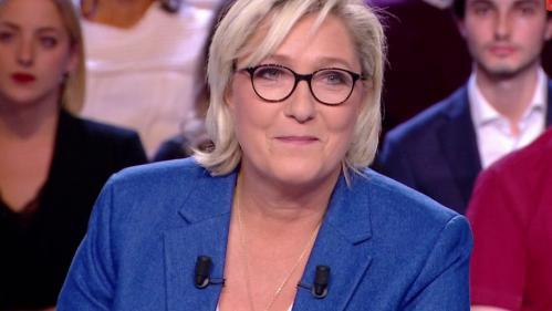 """Revivez """"L'Emission politique"""" avec Marine Le Pen"""