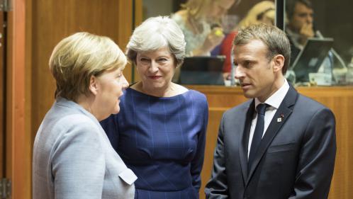 """VIDEO. Brexit : Londres est """"loin du compte sur les engagements financiers"""", selon Emmanuel Macron"""