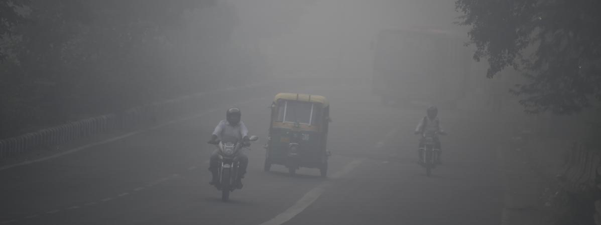 Photo d\'illustration de la pollution de l\'air, en Inde.