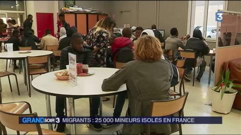 Migrants : 25 000 mineurs isolés en France