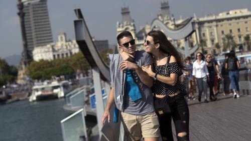 """""""Je me suis demandé si j'allais arriver en Espagne ou en Catalogne"""" : à Barcelone, le tourisme fait grise mine"""