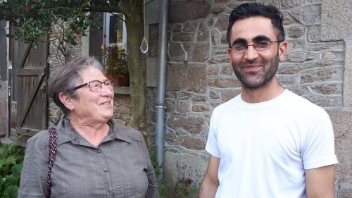 """""""Je peux me regarder dans la glace"""" : un an après la fin de la """"jungle"""" de Calais, Simone héberge un migrant en Creuse"""