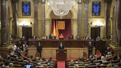 Catalogne : le parlement régional prévoit de siéger jeudi, veille de la possible mise sous tutelle par Madrid