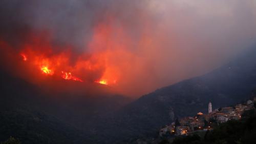 DIRECT. Incendies en Haute-Corse : au moins 2000hectares ravagés par les flammes