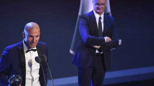 La Fifa sacre Zidane comme meilleur entraîneur de l'année et Giroud pour le plus beau but