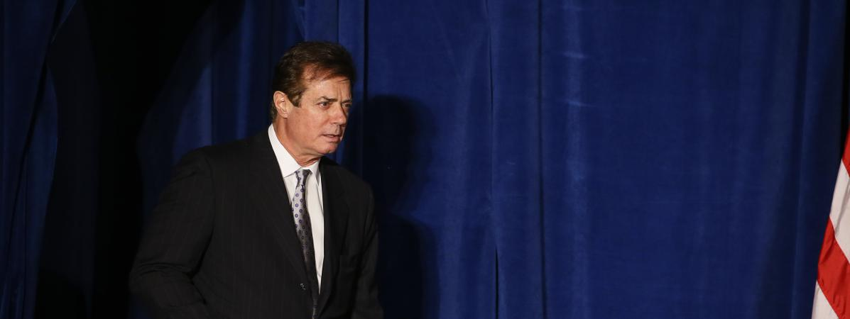 Paul Manafort, ancien directeur de campagne de Donald Trump, à Washington, le 27 avril 2016.