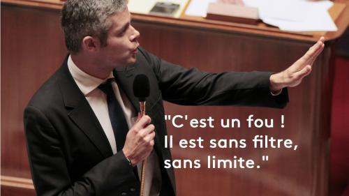 """EN IMAGES. """"Fou"""", """"dangereux"""", """"cruel""""… Douze fois où la droite a dézingué Laurent Wauquiez"""