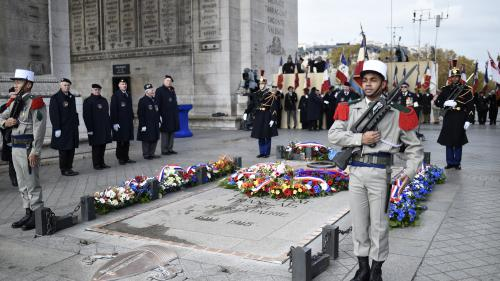 DIRECT. Regardez les commémorations du 11-Novembre en présence d'Emmanuel Macron