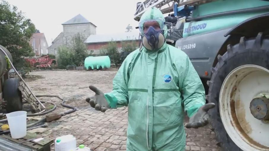 Les préparations des parasites pour les pigeons