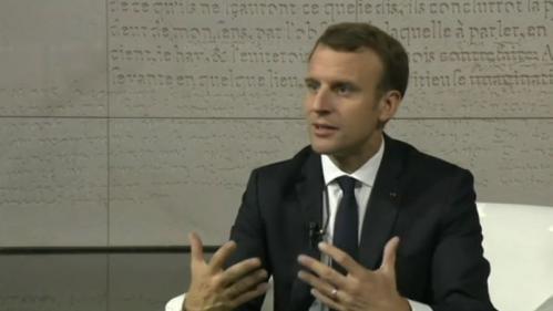 nouvel ordre mondial | Emmanuel Macron prédit